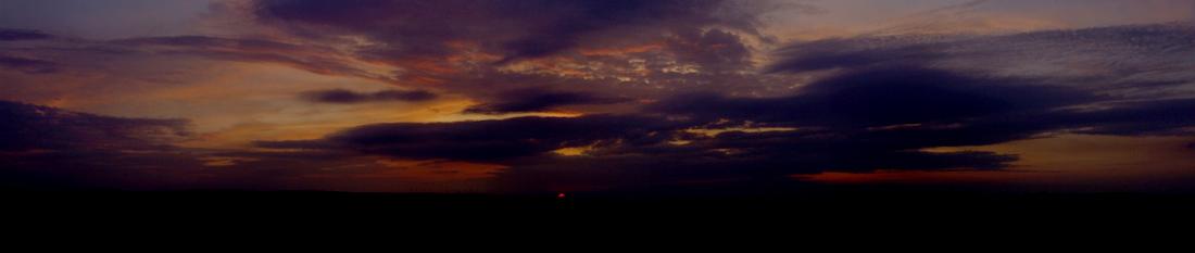 Sonnenuntergang 10.9.2008
