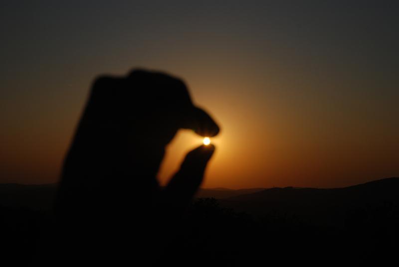 Sonnenuntergang 25.08.2011 Jubiläumswarte