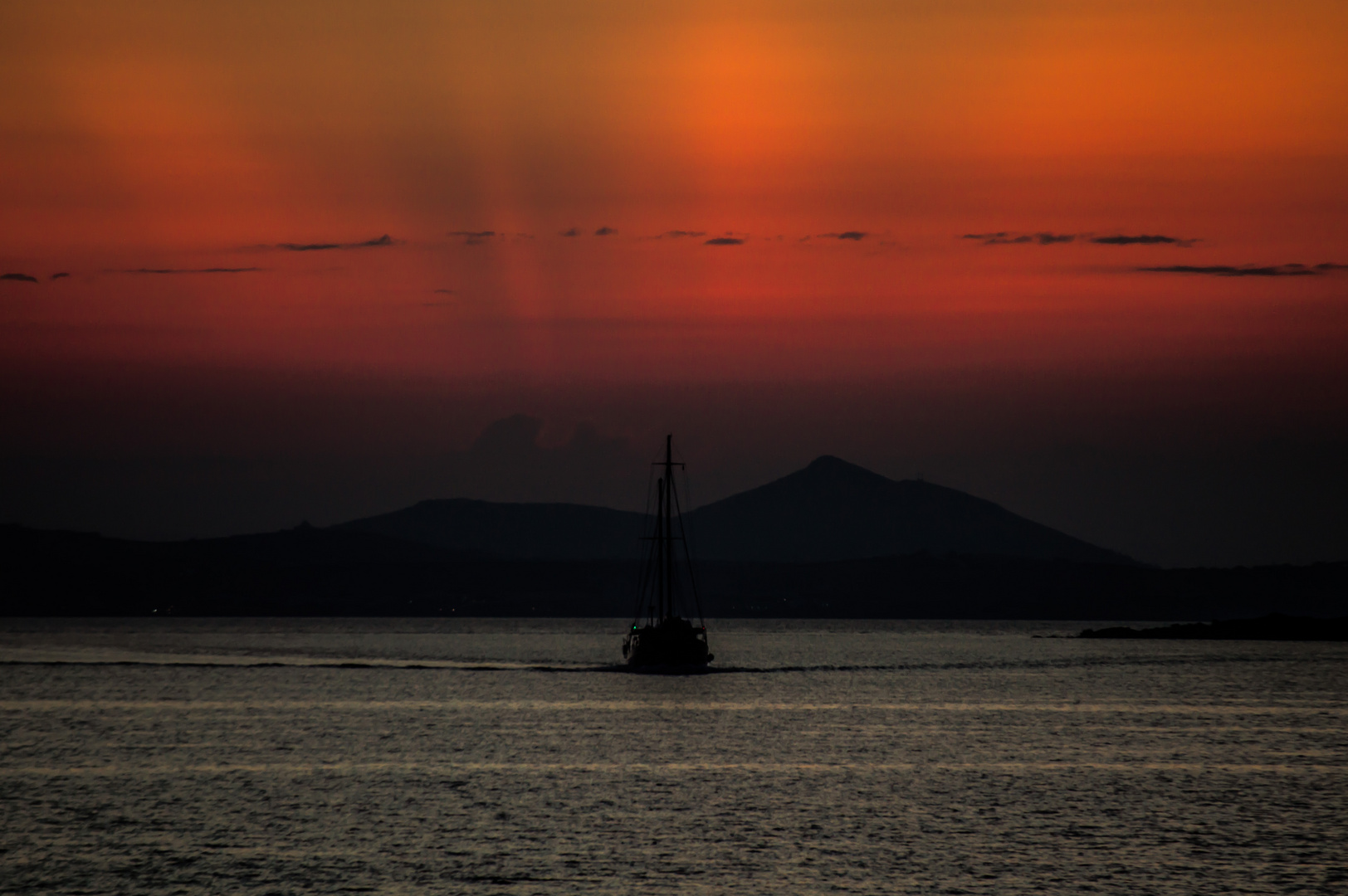 Sonnenuntergang.......