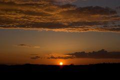 Sonnenuntergang 7. April 2005 20:08