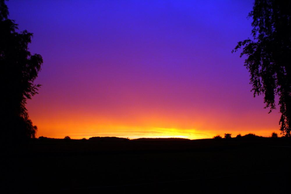 Sonnenuntergang - Abendrot - Farbenspiele