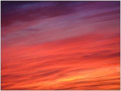 Sonnenuntergang abstrakt