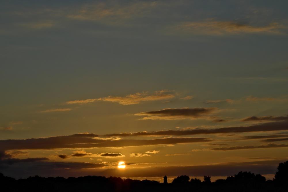 Sonnenuntergang am 10.07.2020 - Bild 1