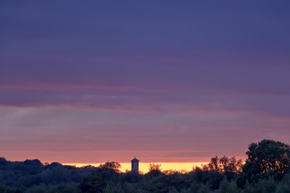 Sonnenuntergang am 13. Mai 2020 - Bild 1