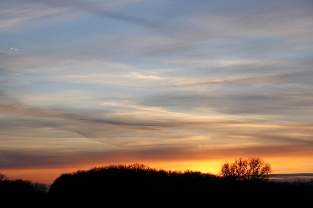 Sonnenuntergang am 17. Januar 2021 - Bild 1