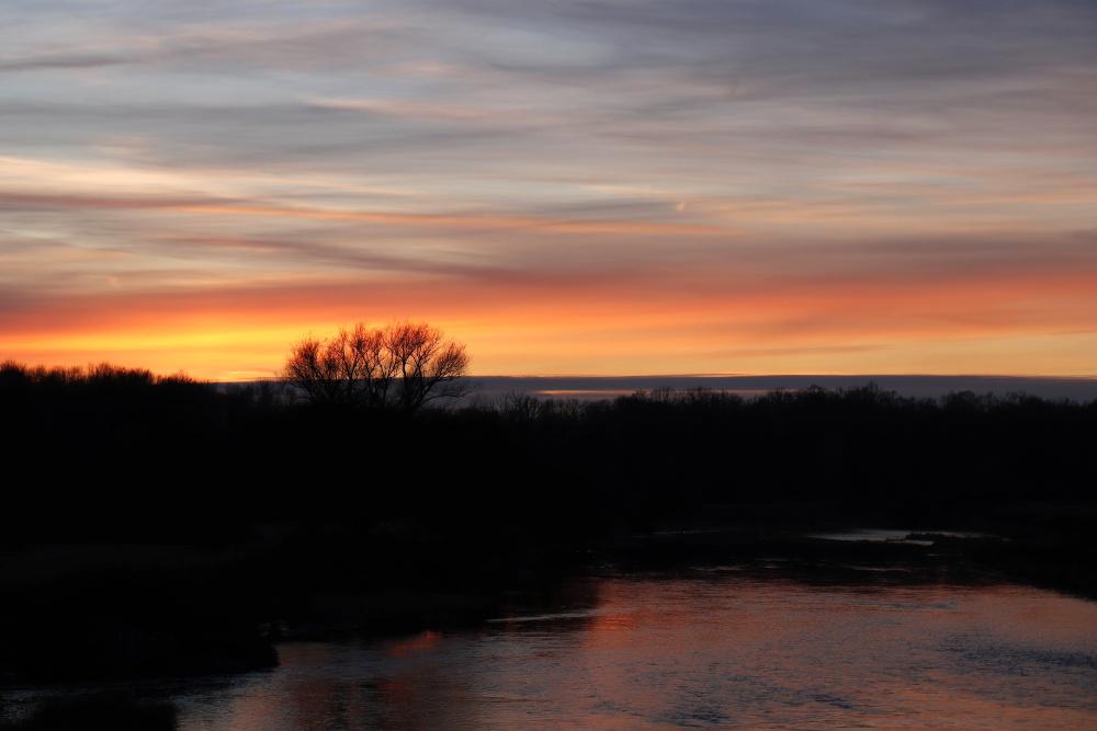 Sonnenuntergang am 17. Januar 2021 - Bild 3