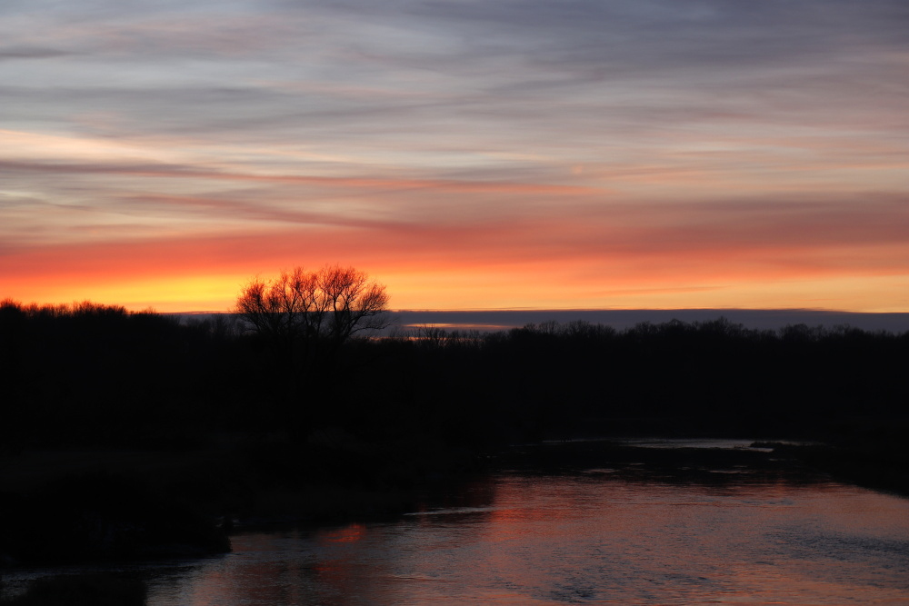 Sonnenuntergang am 17. Januar 2021 - Bild 4