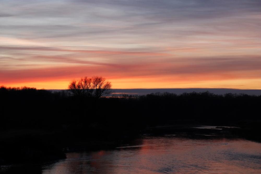 Sonnenuntergang am 17. Januar 2021 - Bild 5