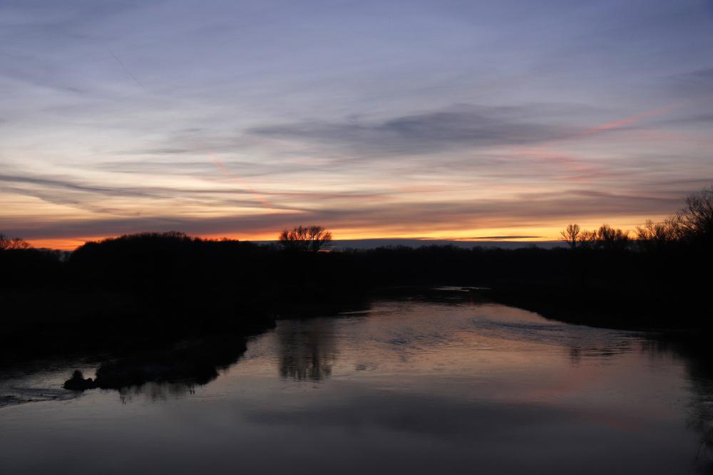 Sonnenuntergang am 17. Januar 2021 - Bild 6