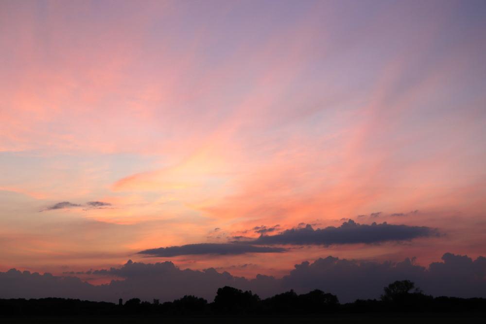 Sonnenuntergang am 19. Juni 2020