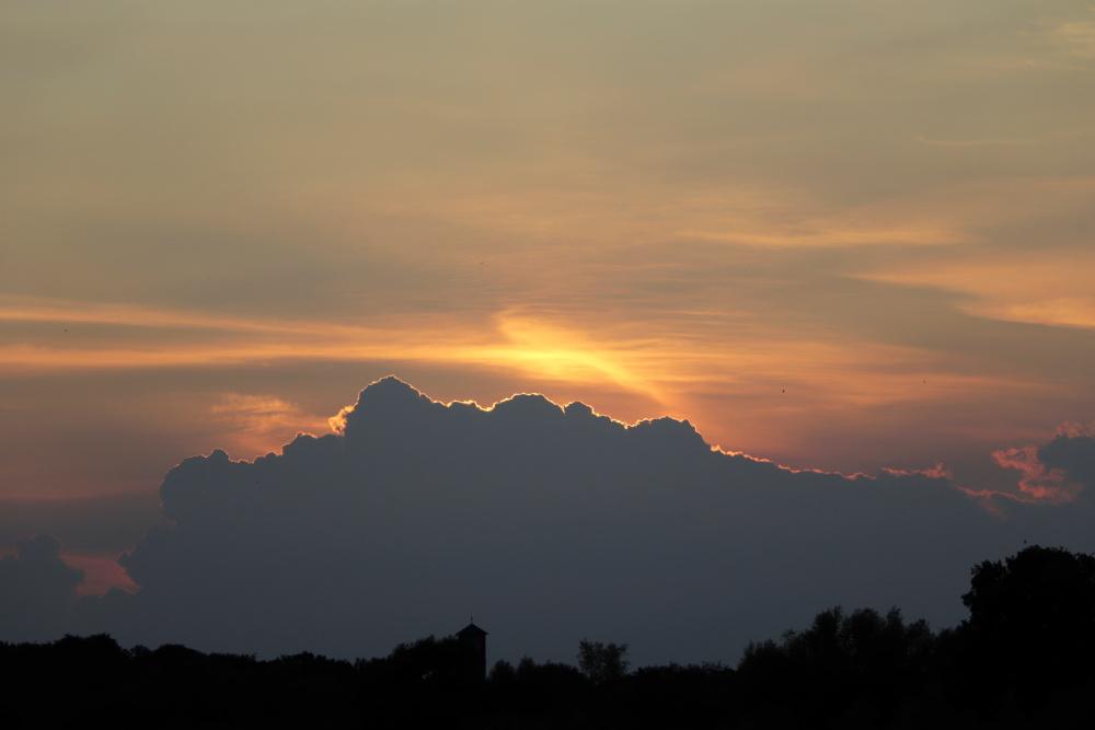 Sonnenuntergang am 19.06.20 - Aufnahme 1