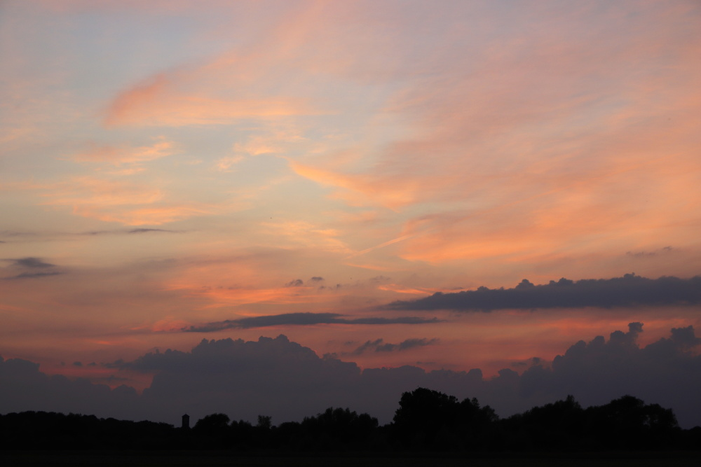 Sonnenuntergang am 19.06.20 - Aufnahme 2