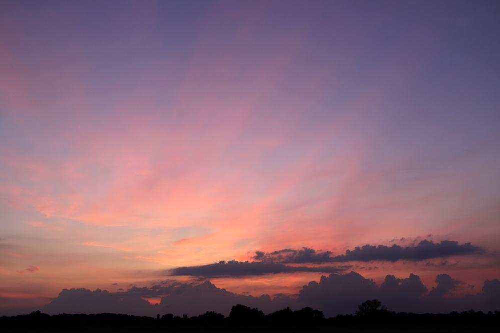 Sonnenuntergang am 19.06.20 - Aufnahme 3