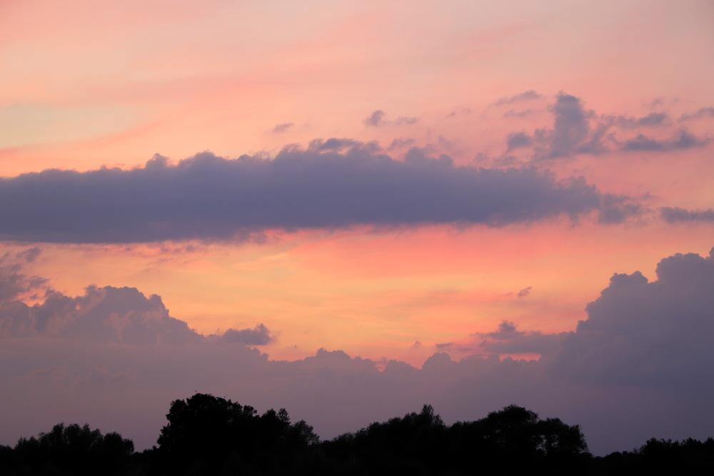 Sonnenuntergang am 19.06.20 - Aufnahme 4