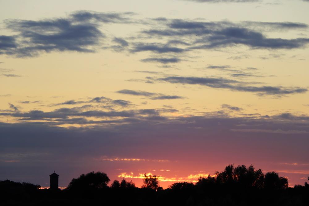 Sonnenuntergang am 21. Juni 2020 - Bild 1