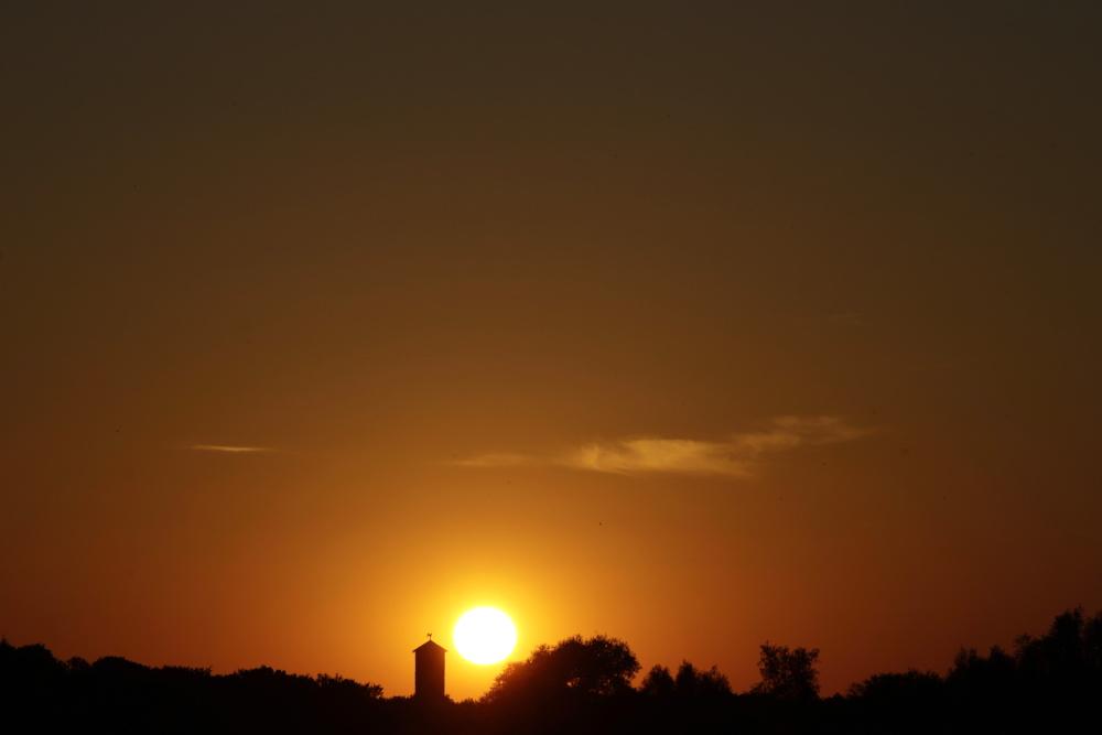 Sonnenuntergang am 23. Juni 2020 - Bild 1
