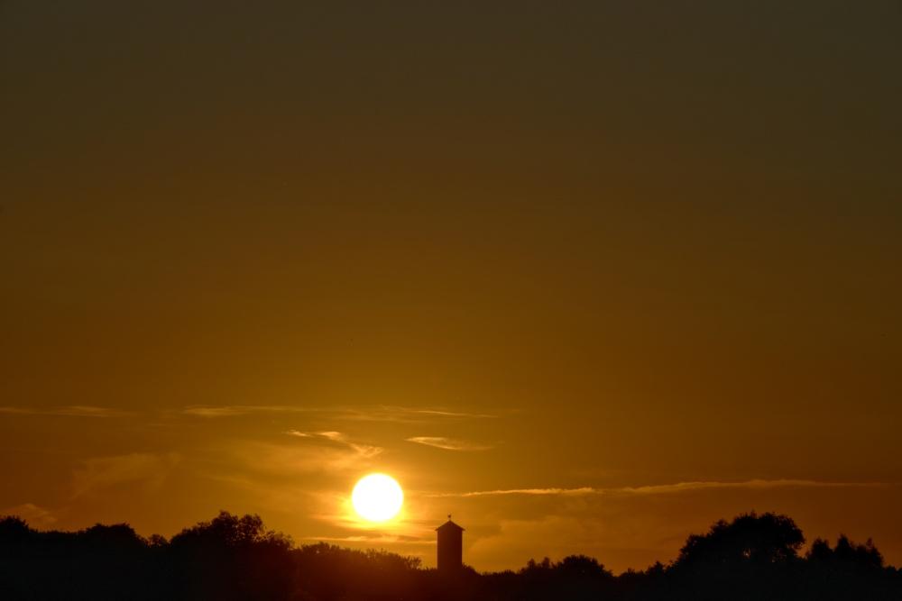 Sonnenuntergang am 24. Juni 2020 - Bild 1