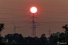 Sonnenuntergang am 24. Mai 2013