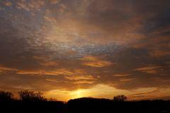 Sonnenuntergang am 26.12.2020 - Bild 1