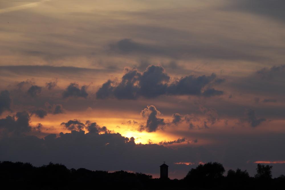 Sonnenuntergang am 3. Juli - Bild 1