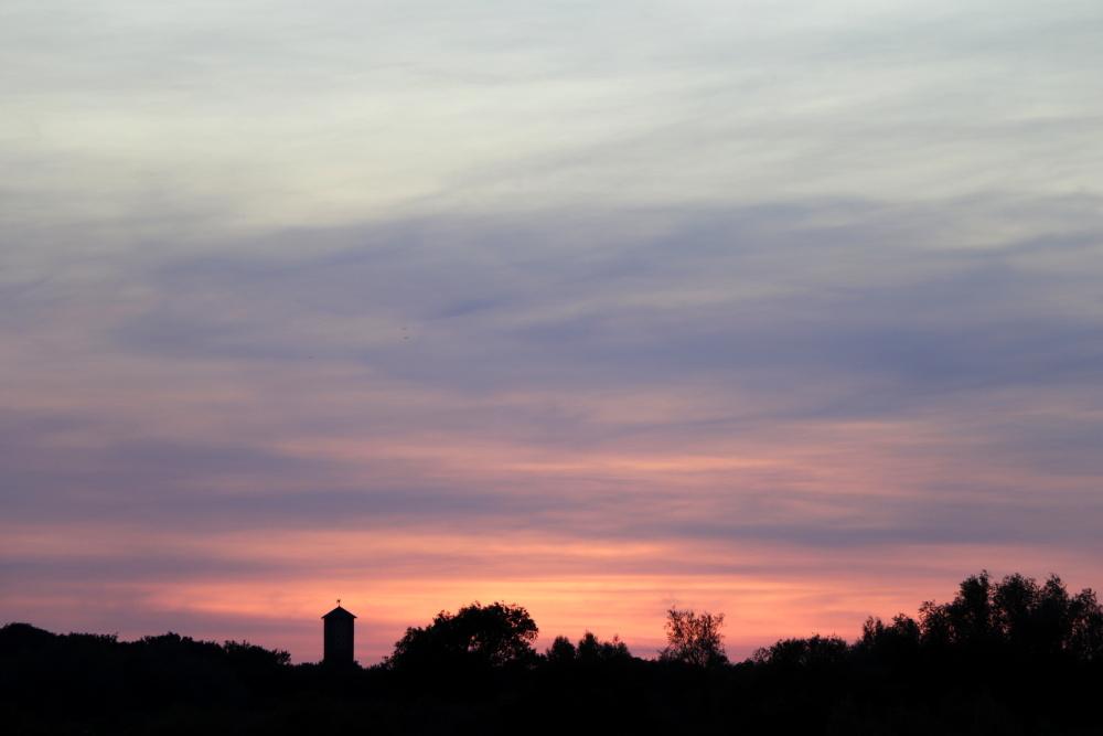 Sonnenuntergang am 31. Mai - Aufnahme 2