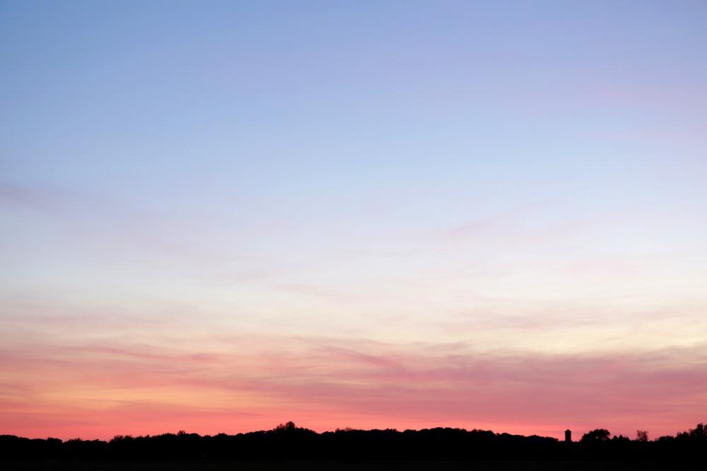 Sonnenuntergang am 31. Mai - Aufnahme 3