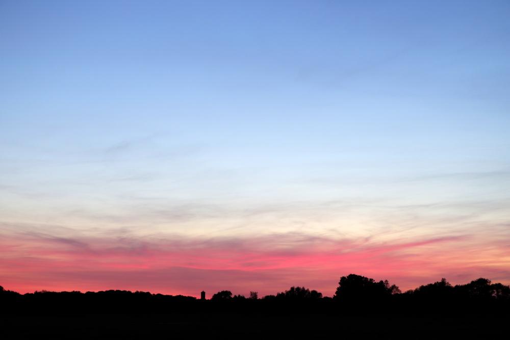Sonnenuntergang am 31. Mai - Aufnahme 4