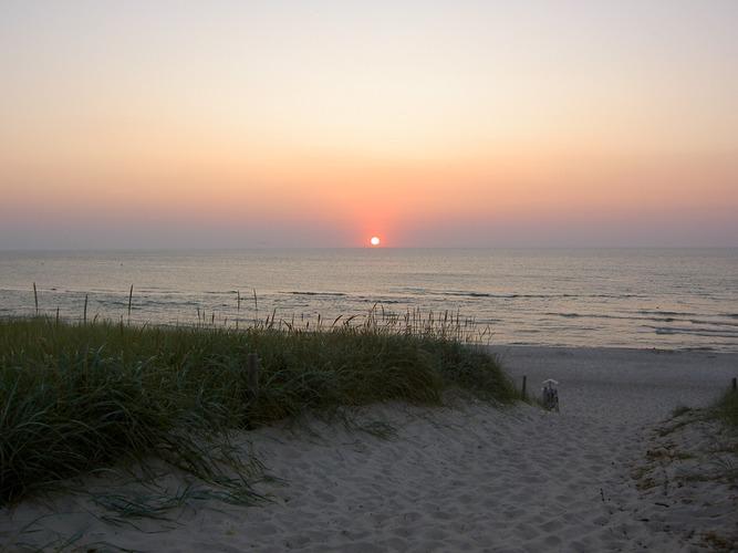 Sonnenuntergang am 8.8.2004