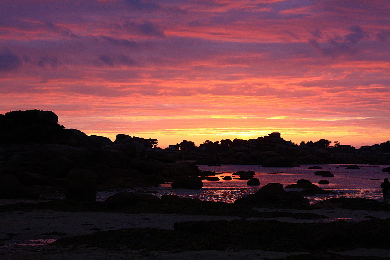 Sonnenuntergang am Atlantik (2)