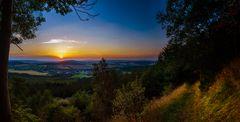 Sonnenuntergang am Bärenstein