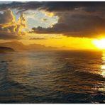 Sonnenuntergang am Bahiá La Pared