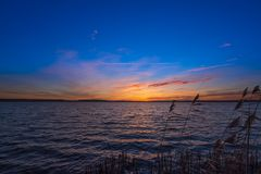 Sonnenuntergang am Blankensee