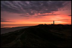 Sonnenuntergang am Blavands Huk