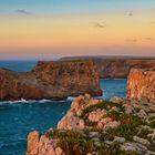 Sonnenuntergang am Cabo de Sao Vicente