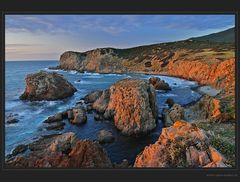 Sonnenuntergang am Capo Pécora - DRI