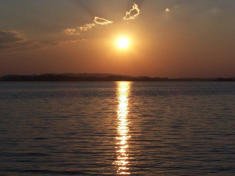 Sonnenuntergang am Chiemsee 1