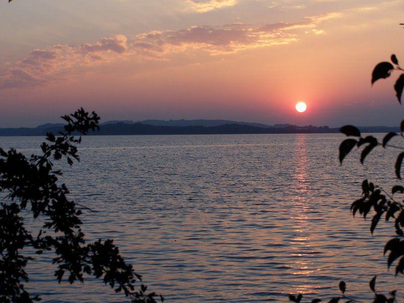 Sonnenuntergang am Chiemsee 2