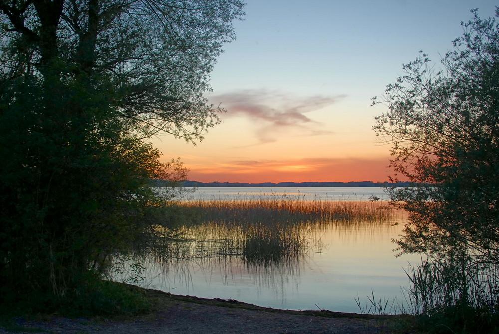 Sonnenuntergang am Chiemsee1