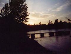 Sonnenuntergang am Clearwater lake (2)