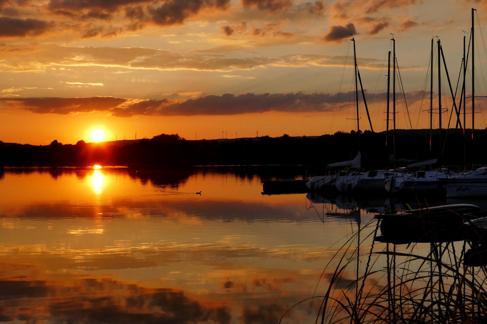 Sonnenuntergang Hessen