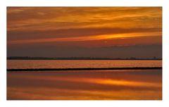 Sonnenuntergang am Estany Pudent