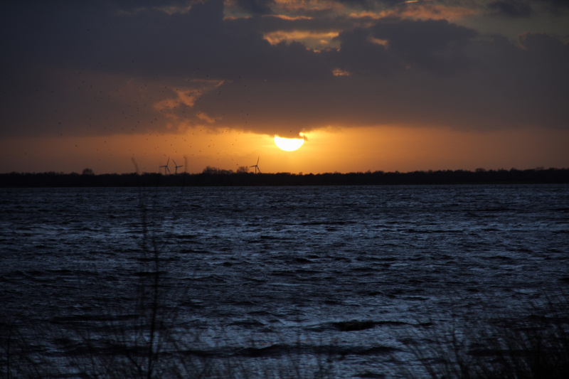 Sonnenuntergang am Ewigen Meer