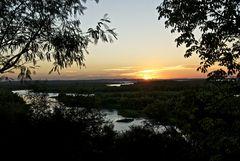 Sonnenuntergang am Fluss Paraná 2