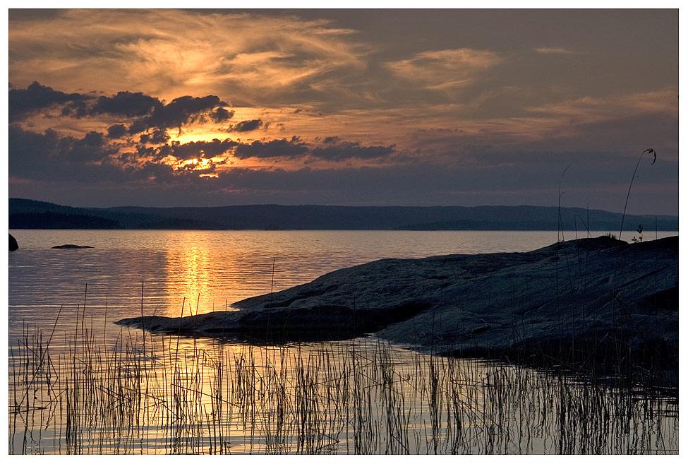 Sonnenuntergang am Foxen II