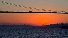 Sonnenuntergang am Goldenen Horn