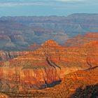Sonnenuntergang am Grand Canyon South Rim...