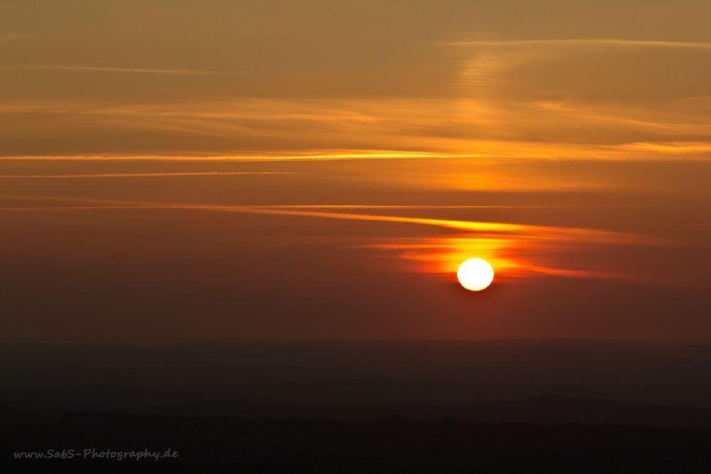 Sonnenuntergang am Hörnle