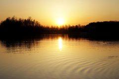 Sonnenuntergang am Horstmarer See - Bild 1