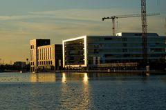 Sonnenuntergang am Innenhafen