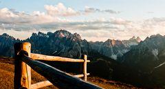 Sonnenuntergang am Karnischen Höhenweg (II)